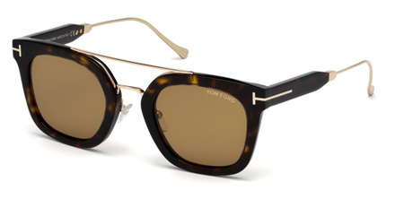 021db0a10d10a Tom Ford Alex-02. FT0541 51 - 52E - dark havana   brown 3562.50 -