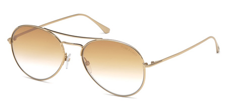 f8b742df0085 Tom Ford Ace-02. FT0551 55 - 28G - shiny rose gold   brown mirror 2787.50 -