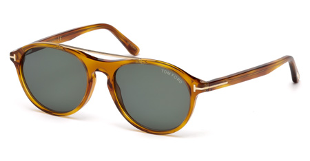52984a339a67d Tom Ford Cameron-02. FT0556 53 - 53N - blonde havana   green 2787.50 -
